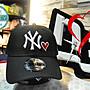 New Era MLB Yankees Black Heart 9Forty 黑...