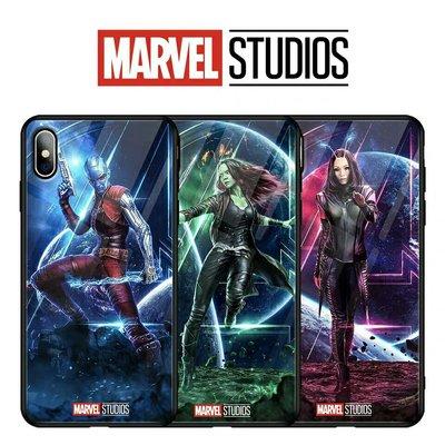 Marvel 銀河守護隊鋼化玻璃手機殼