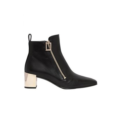 【ChicPop】Roger vivier POLLY ZIP-UP LEATHER ANKLE 踝靴 17秋冬
