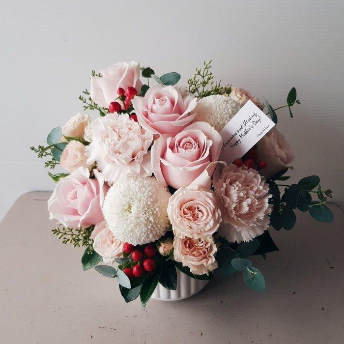 祝賀鮮花盆花|台北西門歡迎自取 | Flower&House花藝之家|
