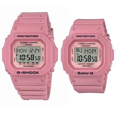 佐敦門市 現貨 100% 全新 Casio G-Shock Baby-G LOV-18B-4 G Presents Lover's 2018 一年保養