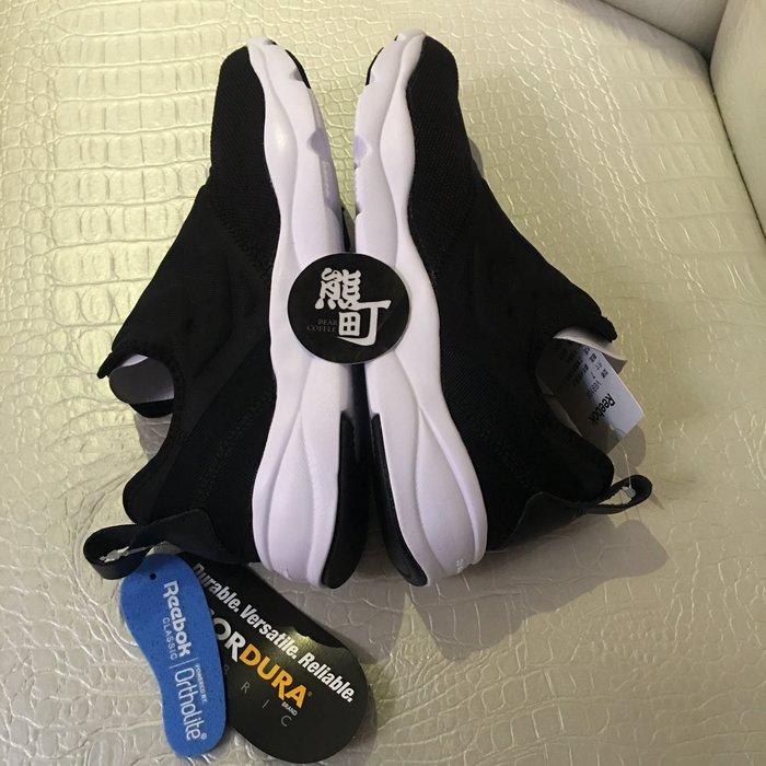 (新年特賣) Reebok Furylite SLIP CONTEMP 黑白 百搭 襪套 慢跑 休閒鞋 V69108