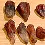 極光23 老礦 紅頭紫水晶原礦 80克一組如圖 冠狀水晶 編號T1084