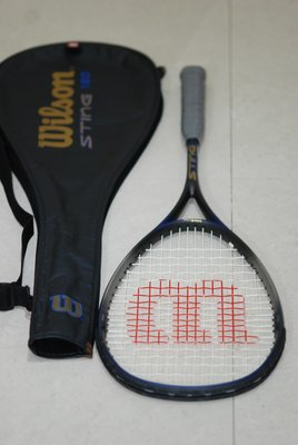 Wilson Sting Graphite Squash Racquet 碳 纖 維 壁球 迴力球 拍 180g