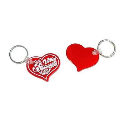 "(I LOVE)MOONEYES  ""Heart"" Key Ring ムーンアイ  心型 造型鑰匙圈"