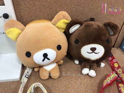 ☆[Hankaro]☆流行可愛小熊造型脖子掛繩零錢包(樣品出清)