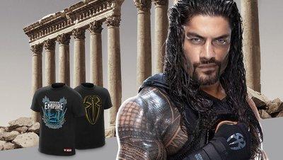 ☆阿Su倉庫☆WWE Roman Reigns Spare No One Spear Everyone T-Shirt