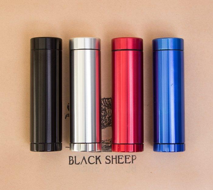黑羊選物 金屬研磨收納罐 雙層設計 收納研磨一次到位 方便攜帶使用  煙斗 捲菸 pipe raw grainder
