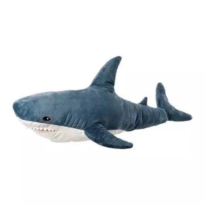 現貨供應70公分大鯊魚抱枕/鯊魚寶寶公仔玩偶大抱枕/夾腿抱枕/靠腰枕墊/沙發枕/聖誕節生日情人節禮物