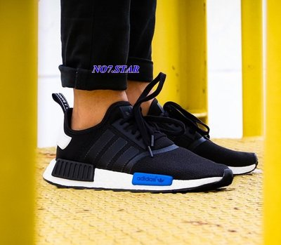 國外正品 Adidas NMD Runner R1 BOOST 輕量 網面 東京 黑藍 慢跑 男女鞋  S79162