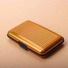 折扣 新品金屬防消磁防RFID/NFC信息盜刷卡包男防水錢包女錢夾名片盒