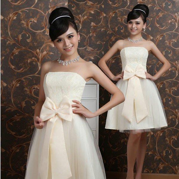 (45 Design定做款)  客製化7天到貨  熱銷款 婚紗禮服韓版小禮服公主短裙
