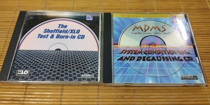 好音悅 Sheffield Lab 發燒的奧秘 檢測及燒機 + 磁域矩陣信號 MDMS 24K金版 消磁CD 無IFPI