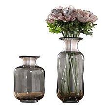〖洋碼頭〗北歐玻璃花瓶擺件 歐式幹花花插 家居客廳餐廳裝飾花器樣板房軟裝 ywj232