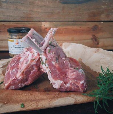 紐西蘭羊肩排(原肉真空包) 650g
