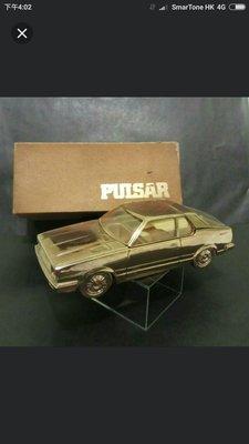 罕有舊日,70代鑄鐵香煙音樂車(绝版:Nissan Pulsar 廣告品)