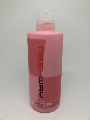 MEEK WAY麗蔻 蜜為修護髮膜500ML 免沖護.直捲髮適用