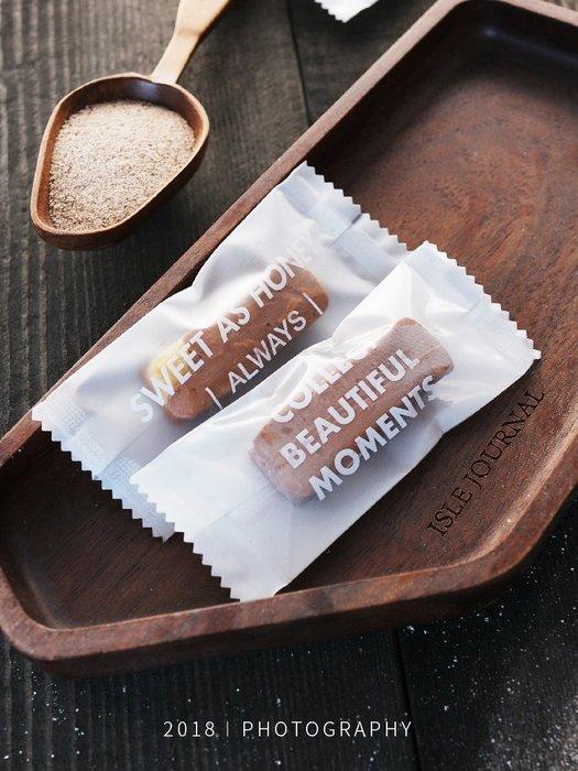 【berry_lin107營業中】白色牛軋糖包裝袋透明糖袋牛軋糖包裝紙新年糖果包裝袋機封袋