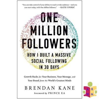 [文閲原版]One Million Followers: How I Built a Massive Social Fo