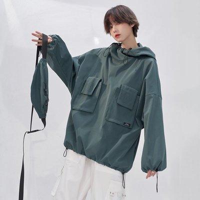 萬有引力博物館 |鹽系衛衣女2020年秋新季新款寬松套頭上衣新BF風外套ak