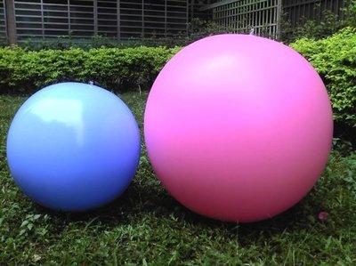 充氣玩具--36吋充氣球 海灘球 足球 西瓜球 大滾球 大龍球 充氣後直徑60cm(含稅)