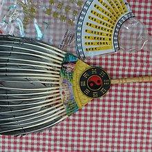 [C.M.平價精品館]消暑好物  為炎夏降溫羽製孔明扇/八卦扇