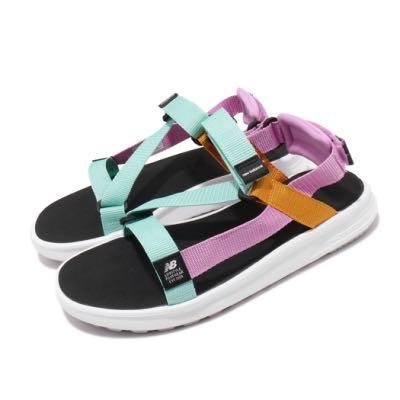➕S.P➕女鞋 NEW BALANCE  NB 850 運動 休閒 涼鞋 粉 藍 橘 SDL850BW