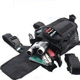 《甲補庫》GUN 多功能戰術袋、黑色軍規任務袋_G-130側揹包、屁股包、腿包~免運費