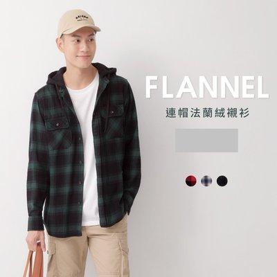 Net Flannel 連帽法蘭絨襯衫 (M號)