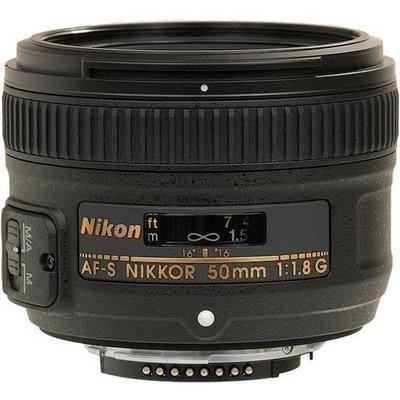【平行輸入】Nikon AF-S NIKKOR 50mm F1.8 G 標準大光圈 適合各種攝影題材 f/1.8G