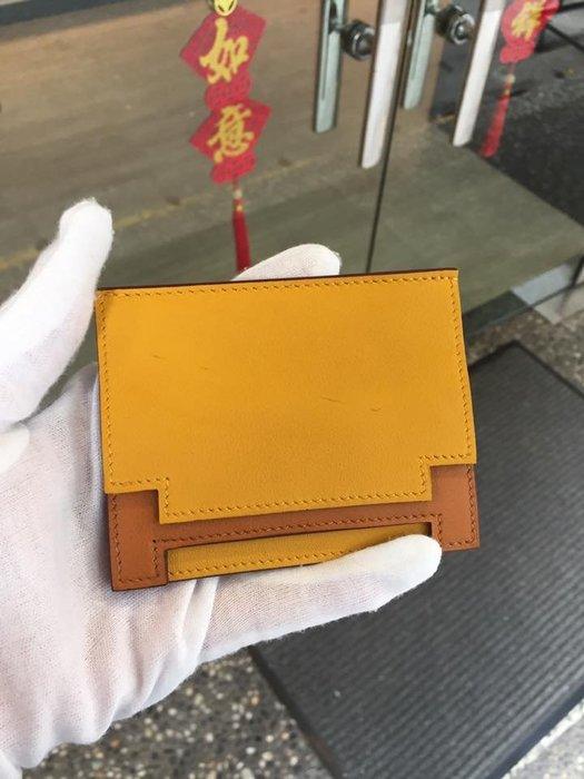 典精品  Hermes Prote Cartes Rabat H Card Holder 名片夾 卡片夾 專櫃26000