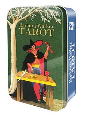 【牌的世界】新發行--芭芭拉沃克鐵盒版塔羅牌Barbara Walker Tarot in a Tin(78張)