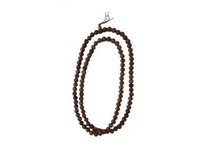 【如意檀香】【梢楠檀香佛珠】拜拜 誦經 用品 佛珠 項鍊 F04T1802