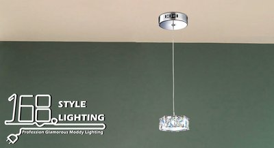 【168 Lighting】時尚五邊形水晶吊燈GC 20015-3