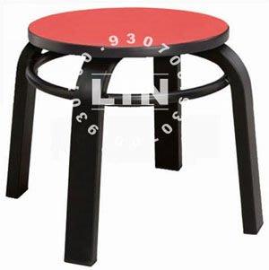 【品特優家具倉儲】384-14餐椅角管低椅火鍋店小椅