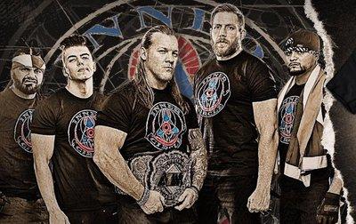 [美國瘋潮]正版 AEW Chris Jericho Inner Circle T-shirt Y2J中流砥柱冠軍款衣服