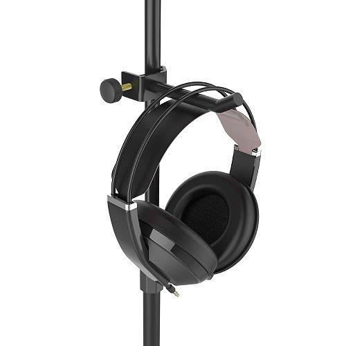 ☆ 唐尼樂器︵☆ W&H HA-01 耳機掛架/吊架(錄音室/工作室配合麥克風架使用)