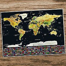 Deluxe World Map