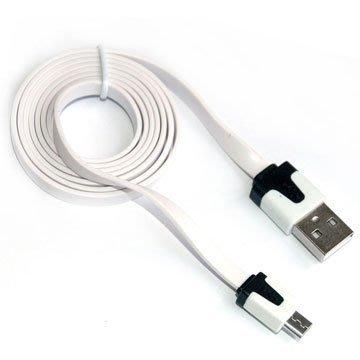 【捷修電腦。士林】 USB扁線 USB A公-micro USB 充電扁線 1M 自取 $69