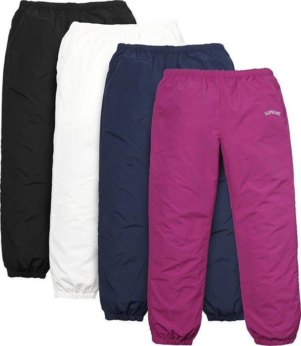 現貨 Supreme Arc Track Pants logo 深藍 褲子 S號
