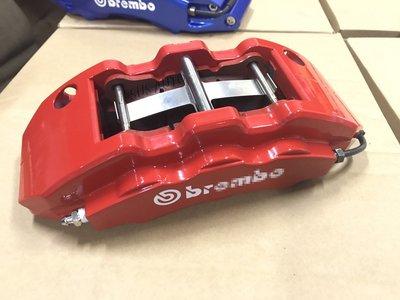 Toyota sienna安全提升制動效能 前大六 後四活塞煞車組 搭正進口BREMBO/FERODO碟盤 卡鉗 煞車