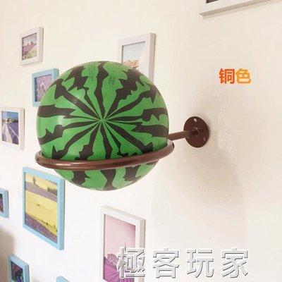 創意家用球架收納架貨架上牆成人籃球架足球架室內球類球具展示架 ATF 全館免運 全館免運