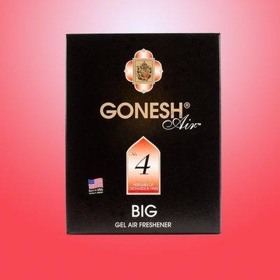 GONESH 精油 芳香大碟 No.4 藤蔓果園 大芳香膠/芳香劑 180g 日本原裝進口【GO020】