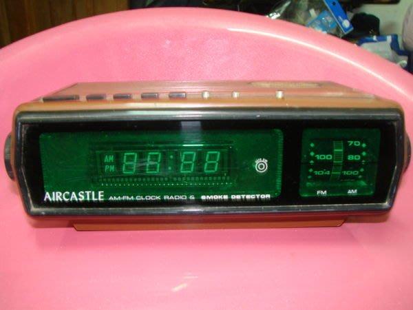 【強強三店】復古 收音機 電子 數字鐘 廣播可當鬧鐘