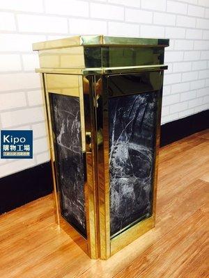 KIPO-靠牆式座地煙灰桶 熱銷垃圾桶 菸灰缸 熄菸桶 煙灰缸熄菸缸+垃圾桶筒店面門口吸菸區擺飾-NKH021187A