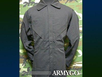 【ARMYGO】國軍連身工作服 (黑色)