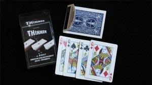 慢慢消失的牌堆 THINNER by Mathieu Bich