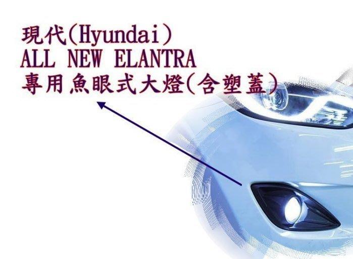 ☆雙魚座〃汽車精品百貨鋪〃HYUNDAI 現代 all new ELANTRA 專用款魚眼霧燈 elantra 霧燈