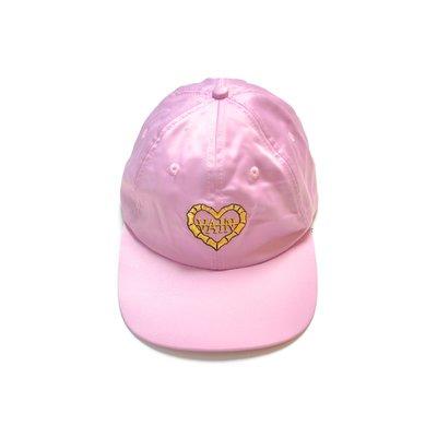 Freaky House-英國品牌Lazy Oaf You So VAIN Cap線繡文字棒球帽粉紅