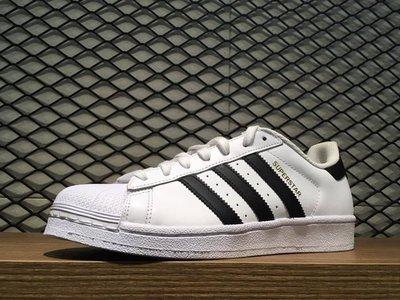 【MASS】Adidas Originals Superstar 黑白 金標 C77124 男女鞋 23 - 29 CM